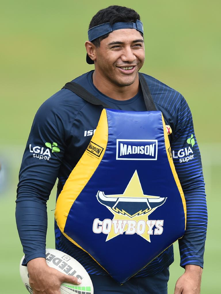 Jason Taumalolo is an intimidating force for the Cowboys. Picture: Evan Morgan