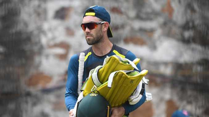 Glenn Maxwell is at risk of missing the first ODI due to illness.