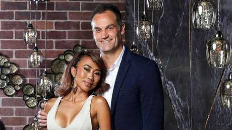 Ning and Mark are matched together on Married At First Sight.