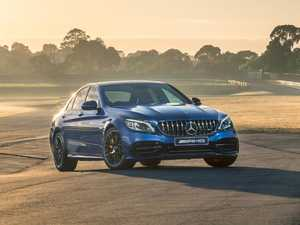 Track test of the insane Mercedes-AMG C 63 sedan
