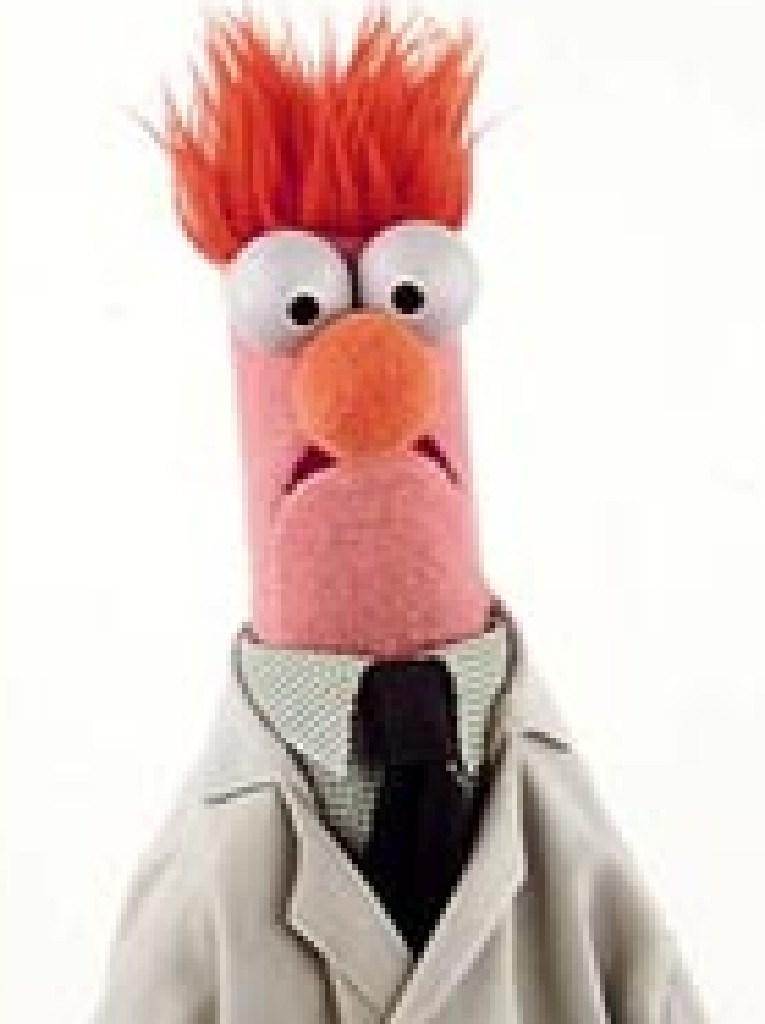 Twitter likened Prime Minister Morrison to The Muppets character Beaker.