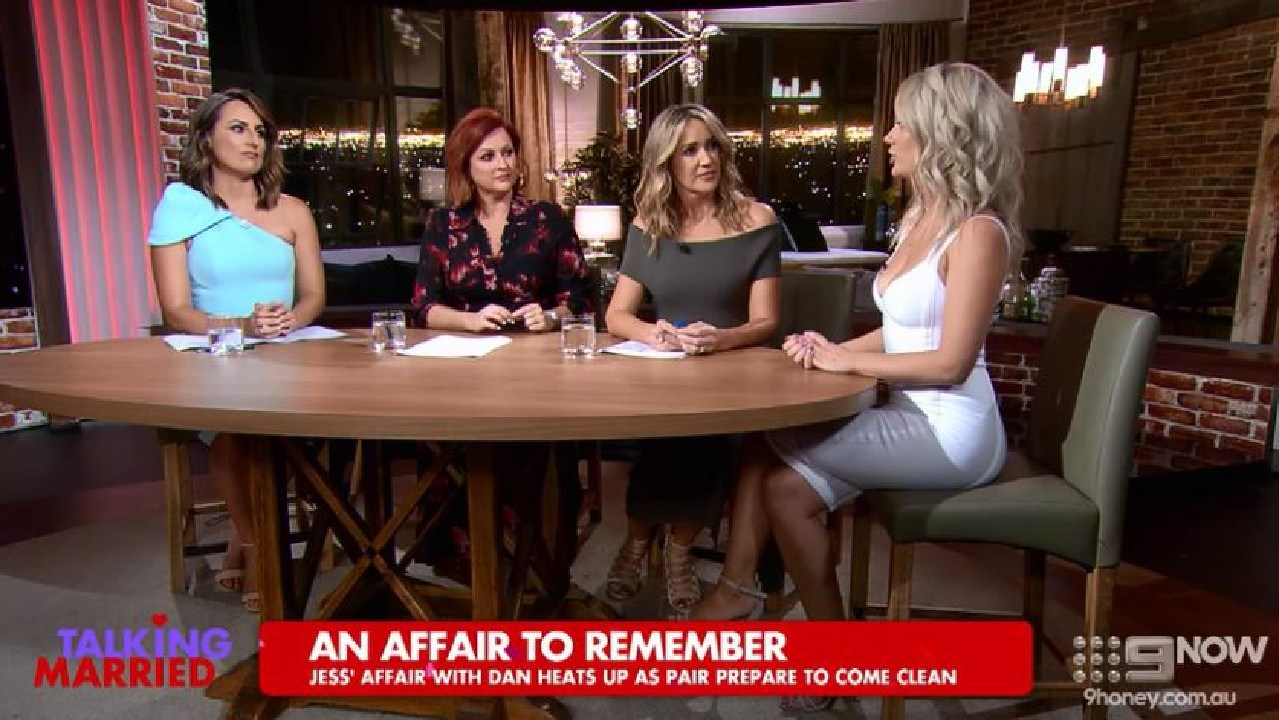 The Talking Married hosts didn't seem too impressed by Jessika.
