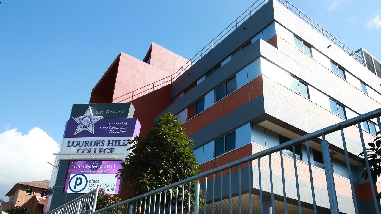 Lourdes Hill College. Photo: Claudia Baxter