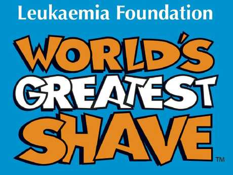 The World's Greatest Shave raises funds for the Leukaemia Foundation.