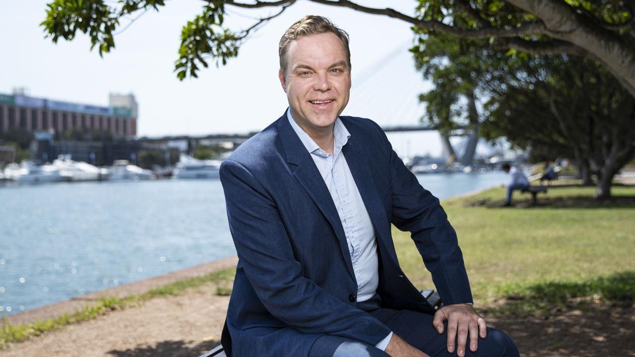 Greens MP in Balmain Jamie Parker. Picture: John Feder/The Australian.
