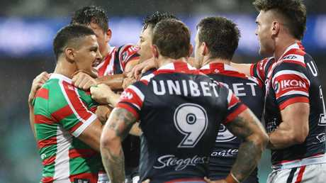Cody Walker ruffled Roosters; feathers in round one. Picture: Mark Kolbe/Getty Images