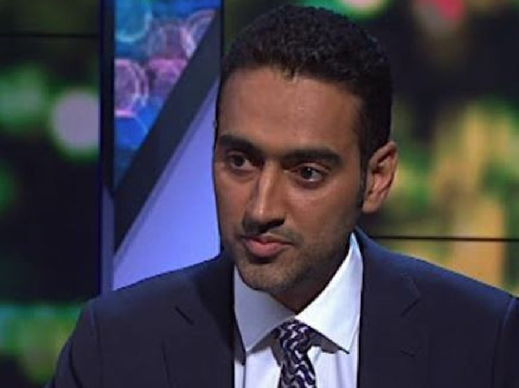 Waleed Aly interviews Scott Morrison on The Project.