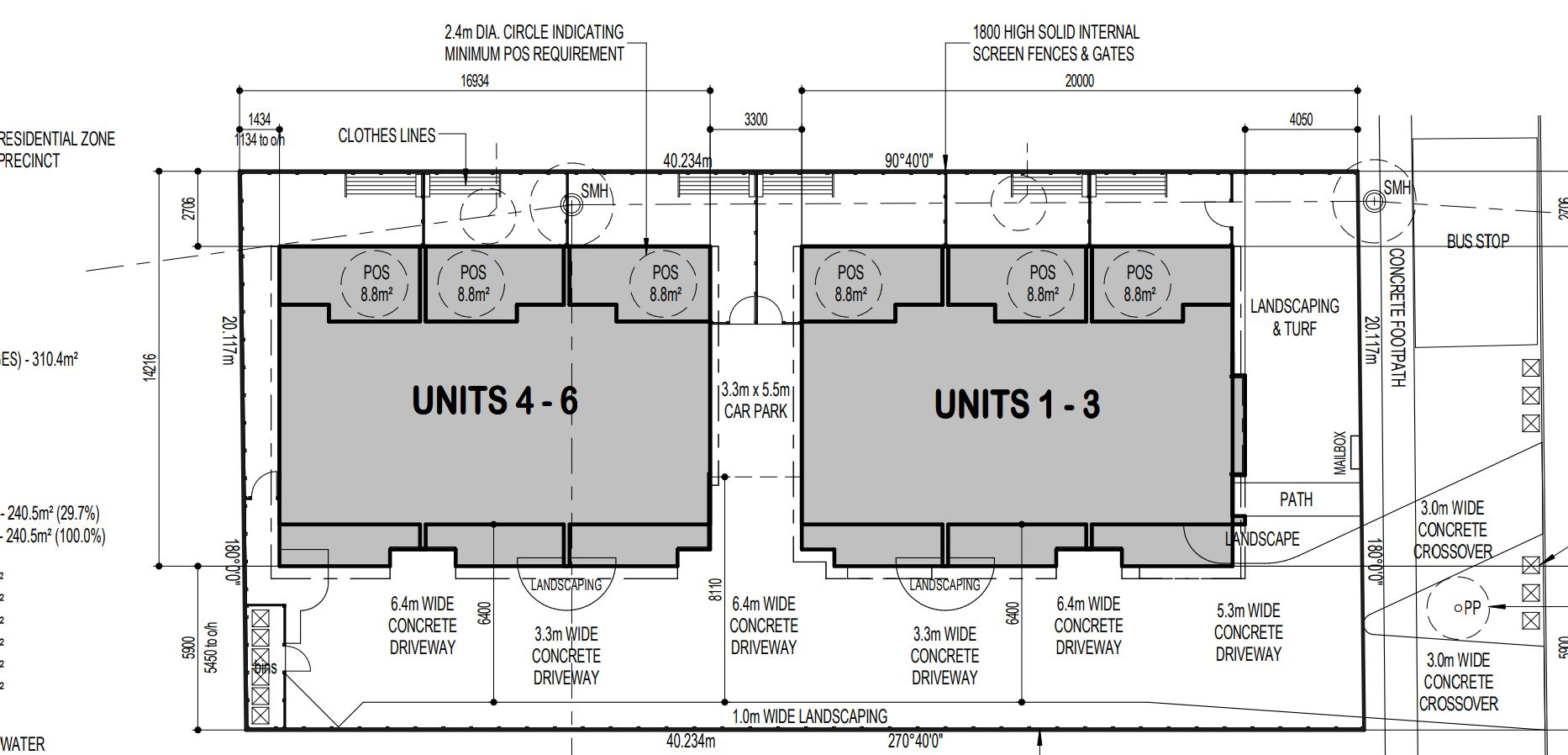 New unit designs for Ruthven St, South Toowoomba.