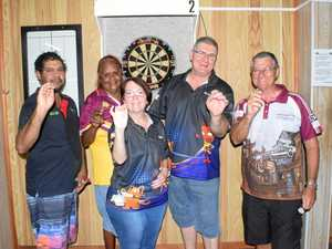 Callide Valley darts team take aim at Gladstone competition