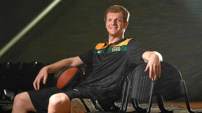 RELAXED ENVIRONMENT: Ipswich Force newcomer Jayden Ferguson has settled quickly into his welcoming QBL team.