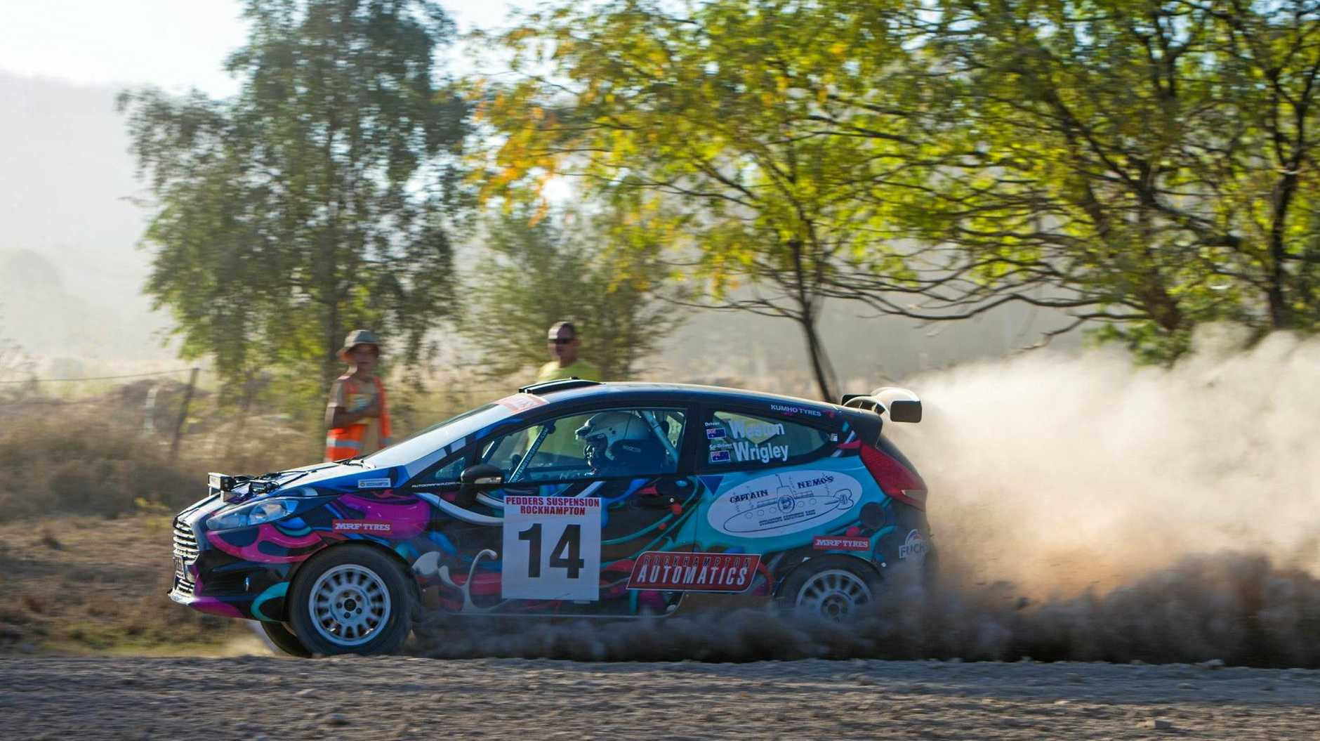 TOP GEAR: Former Queensland rally champion Clay Weston will be in the race for victory at this weekend's Byfield Fire Tower Rally Sprint.
