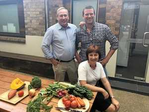 Celeb chef makes the most of our produce