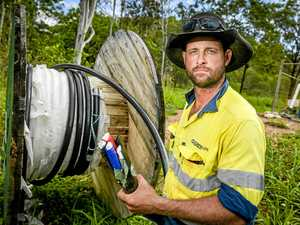 STOLEN AND DUMPED: Sparks fly over work site cable thievery
