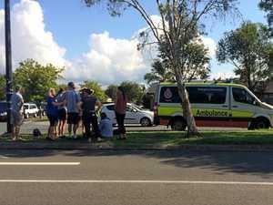 School students caught up in multi-vehicle crash