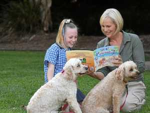 Stars of book come to life for girl winning competition