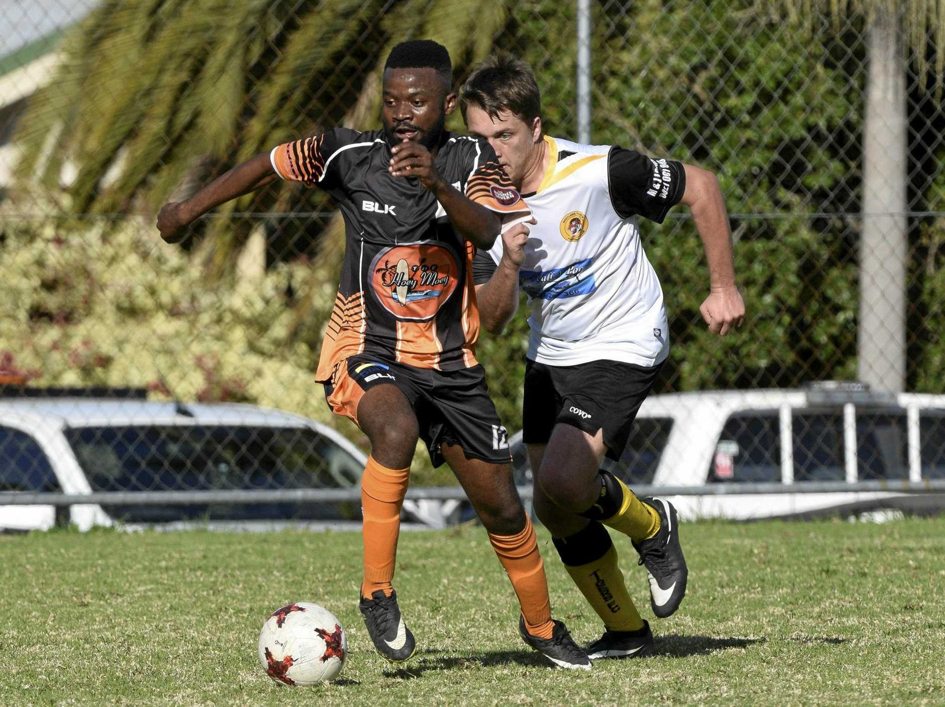 LEVEL UP: The Coffs Coast Tigers have been drawn to take on Bangalow in round four of the FFA Cup.