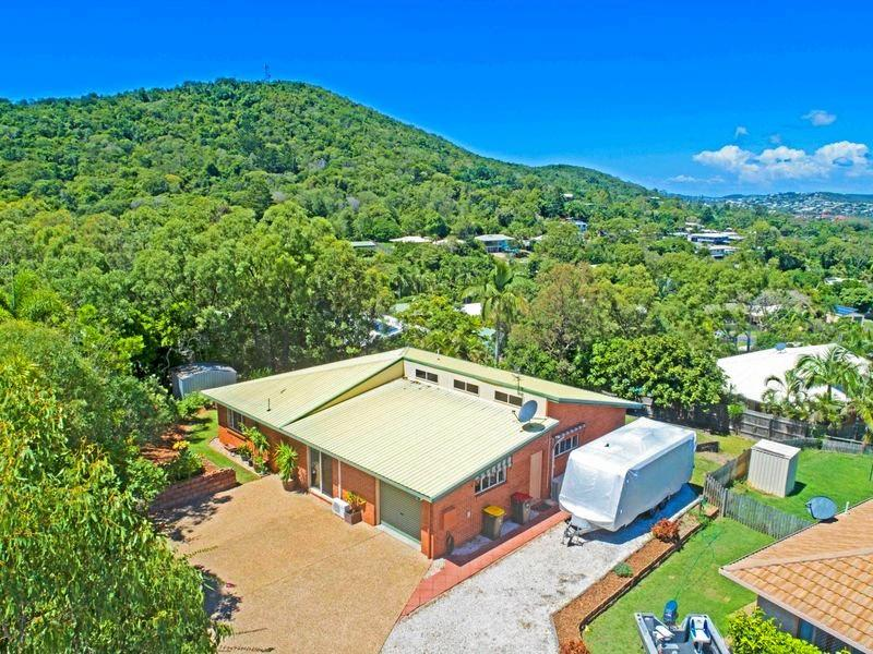 COASTAL BARGAIN:  At the top of a quiet cul de sac with a beautiful outlook is this three-bedroom property at 9 Morilla Pl, Yeppoon on a level 1053sq m block.  Offers are sought in the mid-$300,000s.