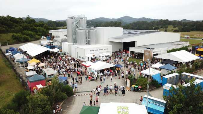 ON AGAIN: Stone & Wood will hold its annual open day at its Murwillumbah brewery to help raise funds for the Wedgetail Retreat hospice in Murwillumbah.