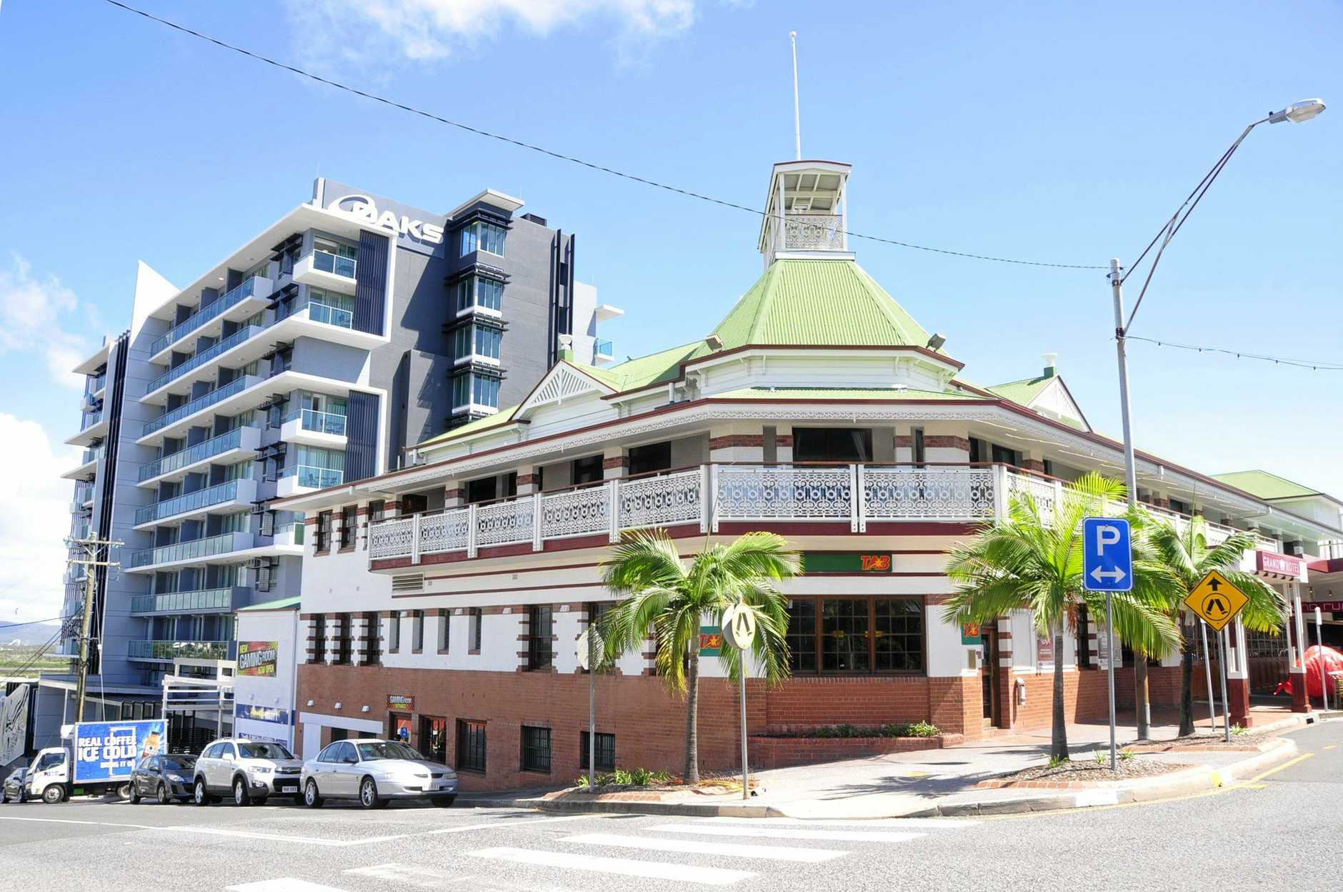 NEW BALL: The Rotary Club of Gladstone is holding its first Gangsters and Flappers Ball at the Oaks Grand Hotel. INSET: Attendees can purchase souvenir glasses on the night.