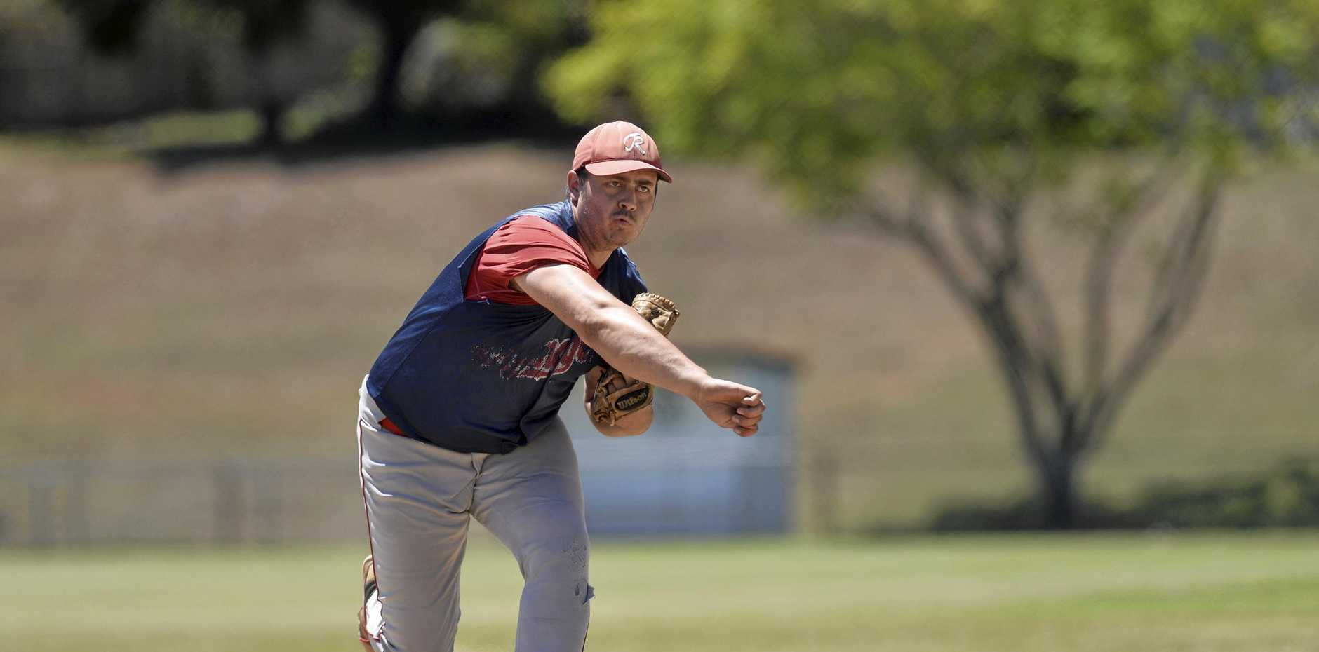 Toowoomba Rangers' pitcher Sam McNeice will be looking to help keep his team's season alive tomorrow when he takes to the mound against Wests Bulldogs in the GBL Division Three knock-out semi-final.