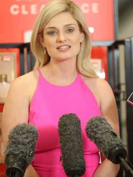 National Retail Association chief executive Dominique Lamb. Picture: Annette Dew