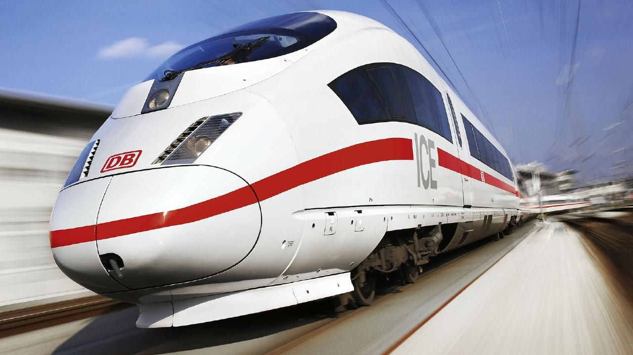 Fast trains, like the German ICE could speed between Melbourne and Geelong.