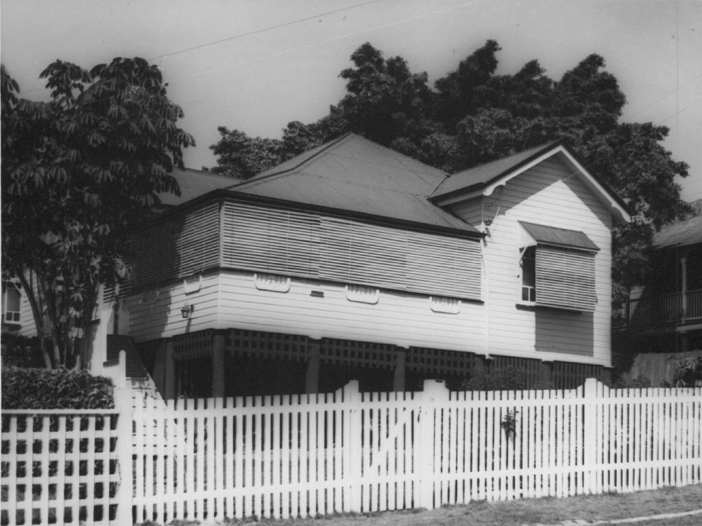 The Shanks' family home in Montpelier St, Grange in Brisbane's inner-north.