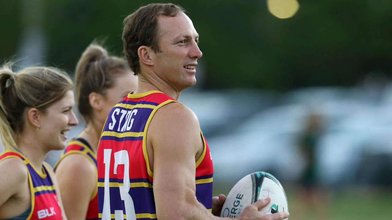 Lockyer says a 17 team competition is the answer to the expansion debate Picture: David Clark