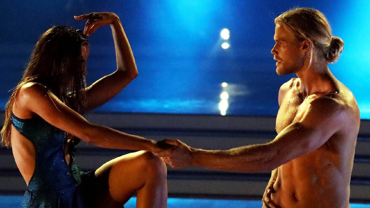 Jett Kenny and his dance partner Lily Cornish on Dancing With the Stars. Picture: Supplied