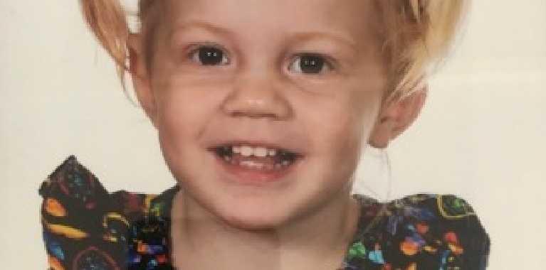 Little victim Hayley Pattenden (Facebook image)