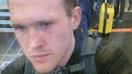 CCTV footage shows Brenton Tarrant, the man suspected of carrying out the New Zealand mosque attacks, as he arrives in March 2016 at Istanbul's Ataturk International Airport in Turkey. Picture: TRT World via AP.