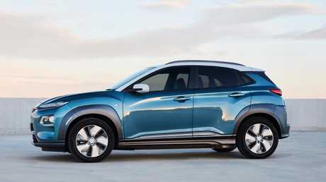 The Kona EV has a practical range of over 400km.