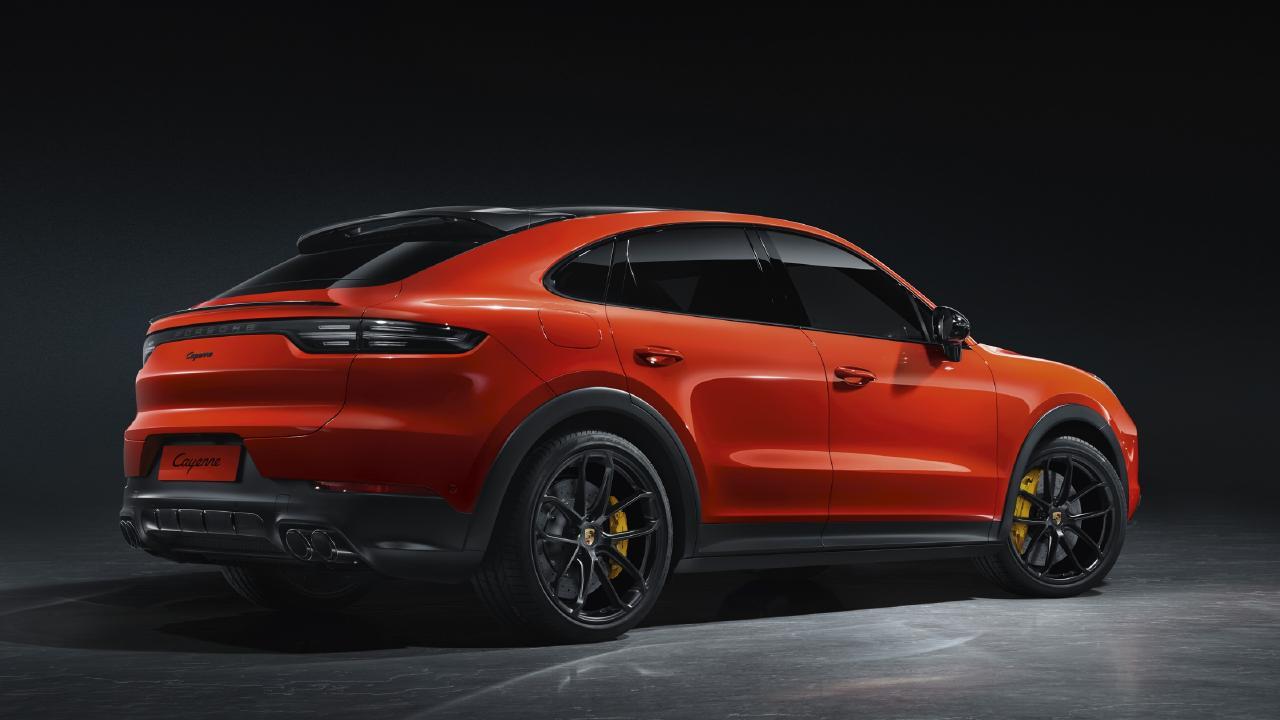 2020 Porsche Cayenne Coupe.