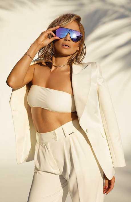Jennifer Lopez in her new campaign for sunnies brand, Quay Australia. Picture: Quay Australia/Sasha Samsonova