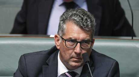 Nationals MP Keith Pitt during Question Time in Canberra. Picture: Lukas Coch/AAP