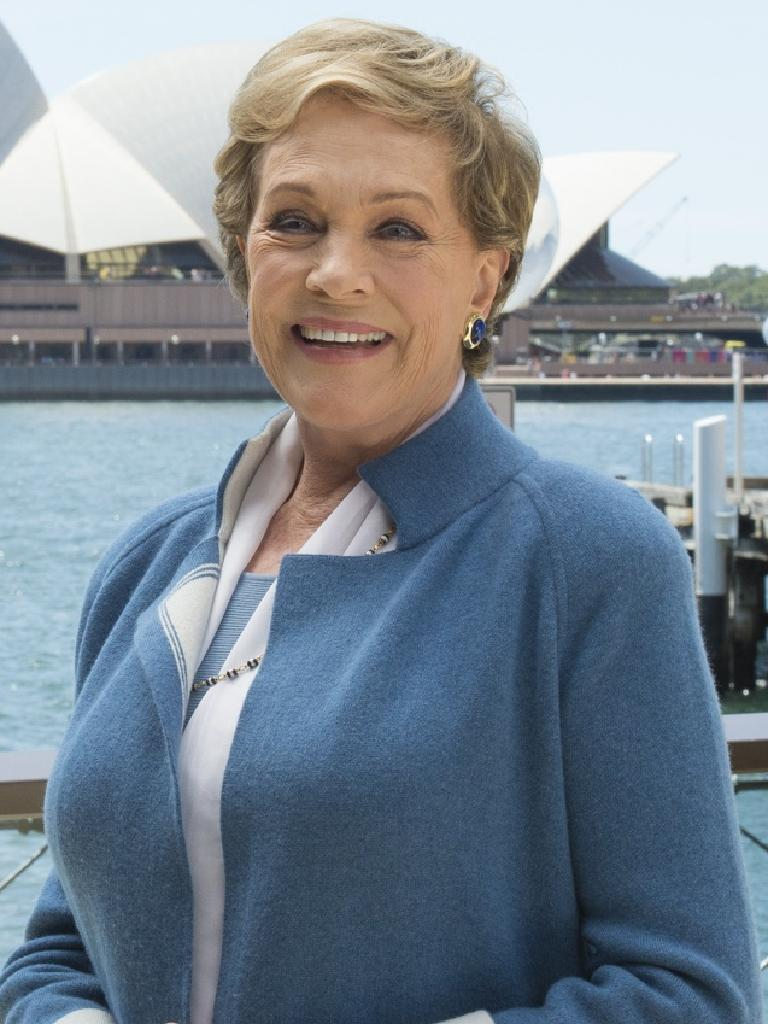 Kochie has a soft spot for Julie Andrews.