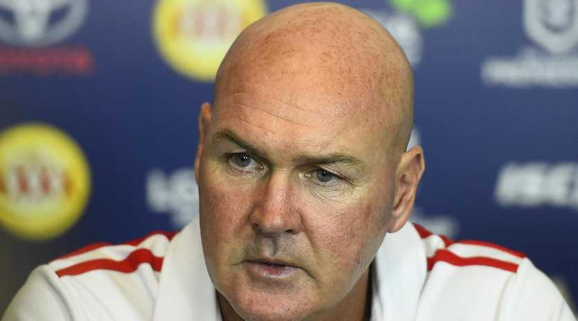 Dragons coach Paul McGregor is increasingly frustrated with the NRL.