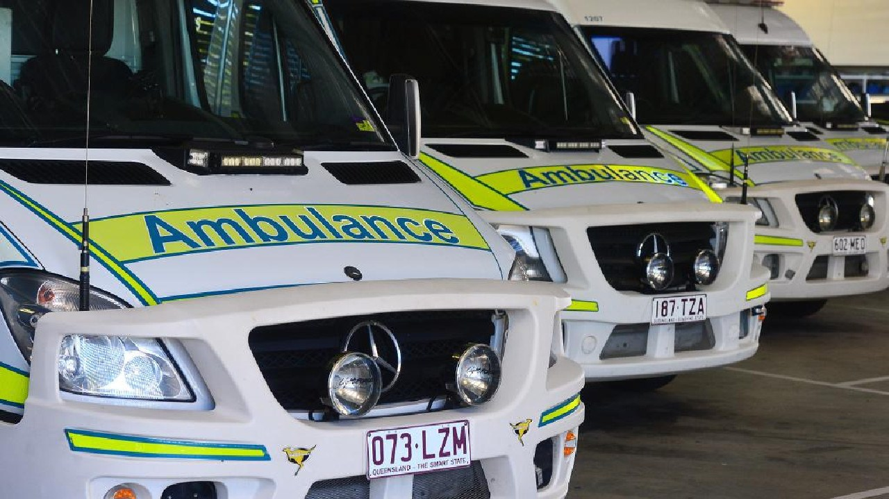 Emergency services were called to the scene of a nose-to-tail crash on Glenvale rd last night.