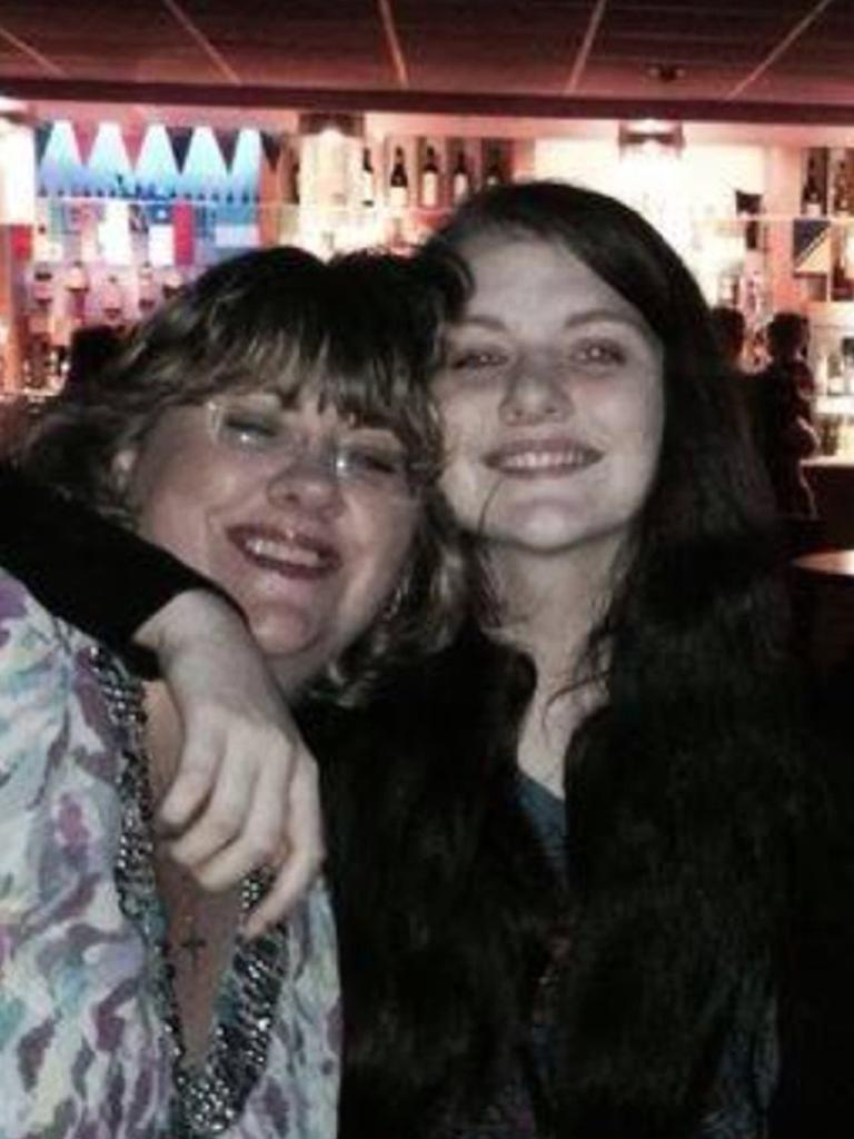Handout family photo issued by Humberside Police of Libby Squire with her mother Lisa. The 21-year-old student disappeared in Hull on Friday February 1.