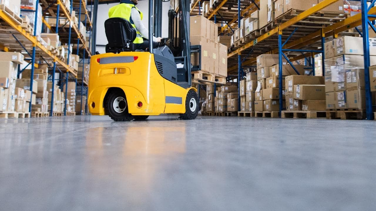 It's believed a forklift rolled on to a man at a workplace in Archerfield. Picture: File photo/iStock