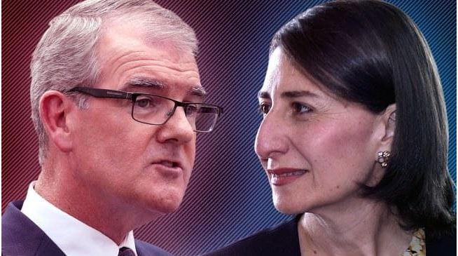 Gladys Berejiklian's Coalition is in to $1.38 to retain power, while Michael Daley's Labor has moved out to $3.
