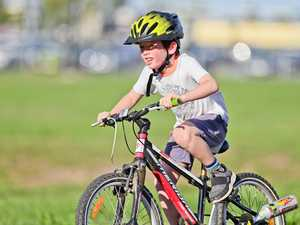 TUFFKIDS Duathlon at the Ipswich Cycle Park.