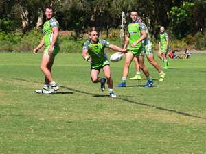 Tweed Coast hooker Dan Willoughby gets the ball out