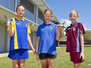 Science knows no gender for drone-flying Hervey Bay students