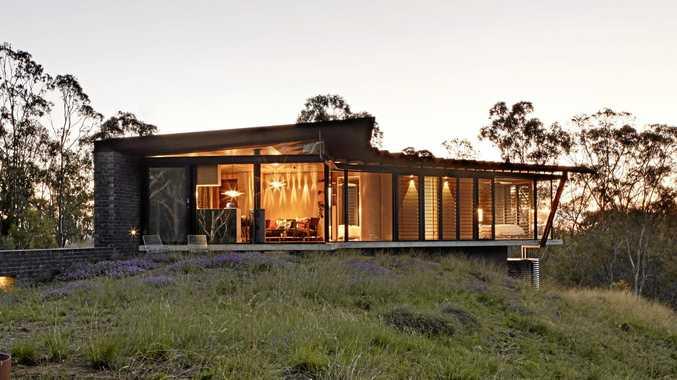 Australian Institute of Architects' Darling Downs/West Morton Regional Architecture Awards Building of the Year Bellbird Retreat. Architect: Steendijk.