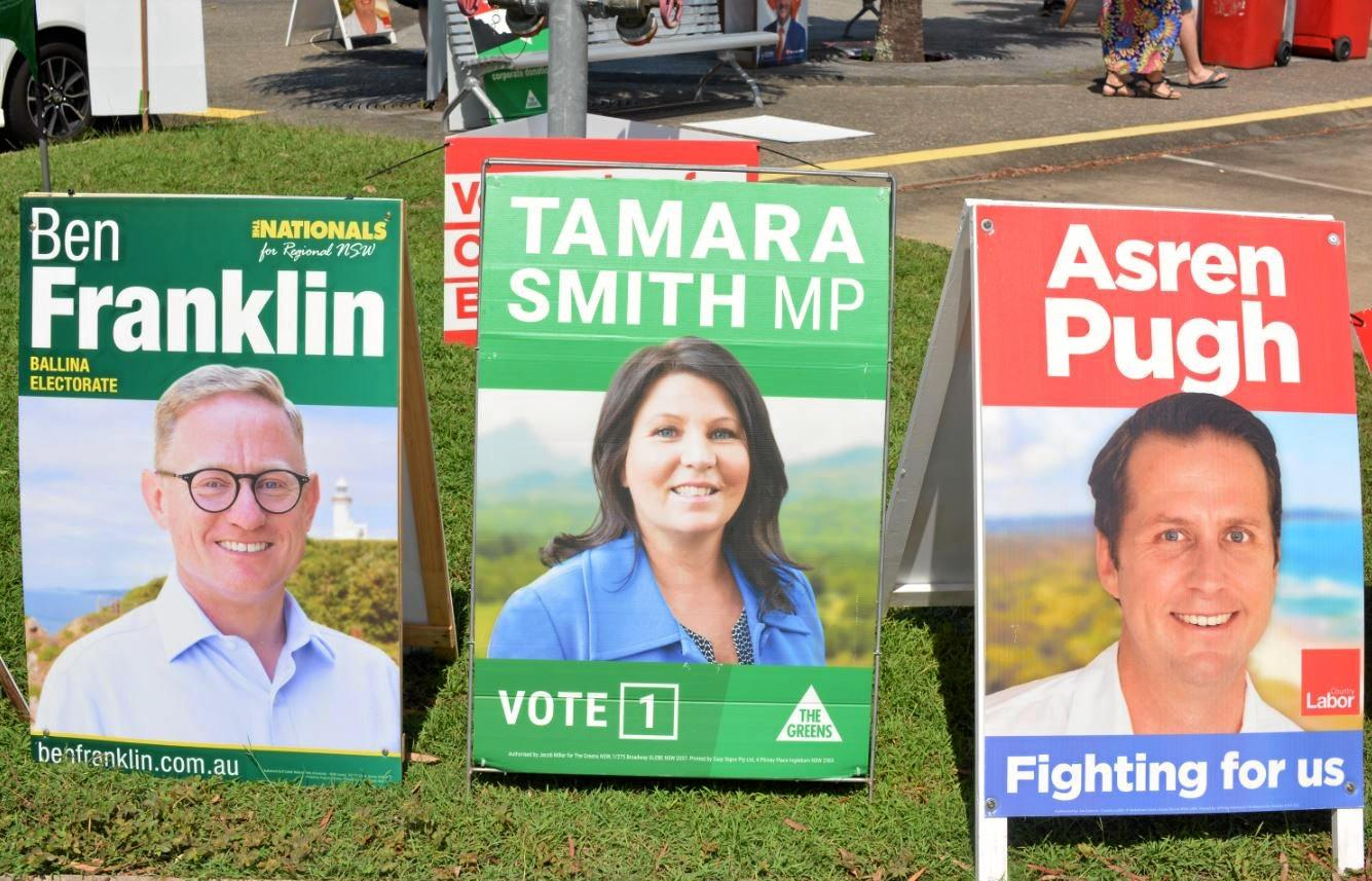 IT'S ON: Who will take out the 2019 State Elections for the seat of Ballina.