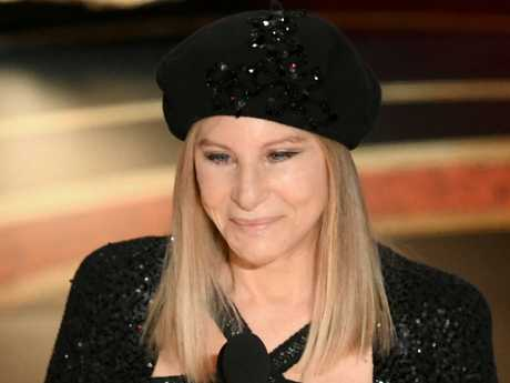 Barbra Streisand has copped backlash for her comments from fans online. Picture: Getty Images