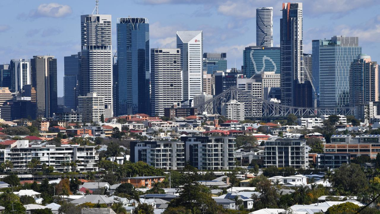 Non-bank lenders helped cushion Brisbane's apartment price falls by stepping in to refinance a number of developers. Picture: Darren England/AAP