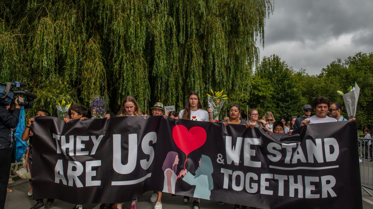 The Christchurch attack is the worst mass shooting in New Zealand's history. Picture: Carl Court/Getty Images