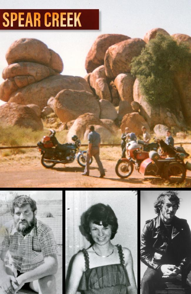 Victims Timothy Thomson, Karen Edwards and Gordon Twaddle.